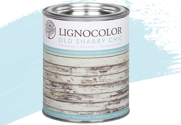 Old Shabby Chic Kreidefarbe Ice Blue 1 kg