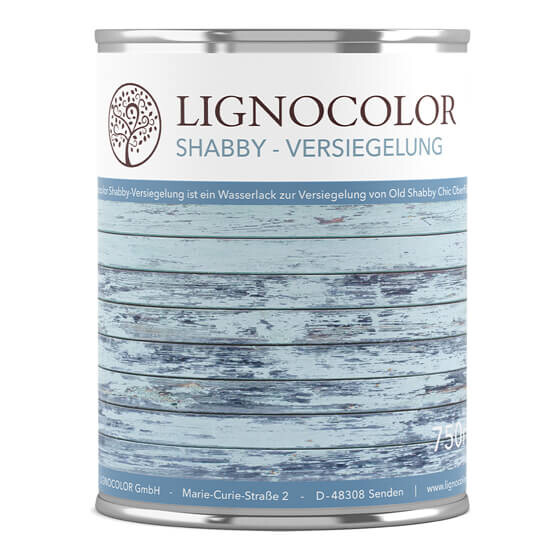 Lignocolor Shabby Versiegelung